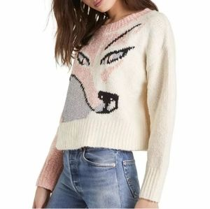 Wildfox Sable Fox Sweater Size M NWT